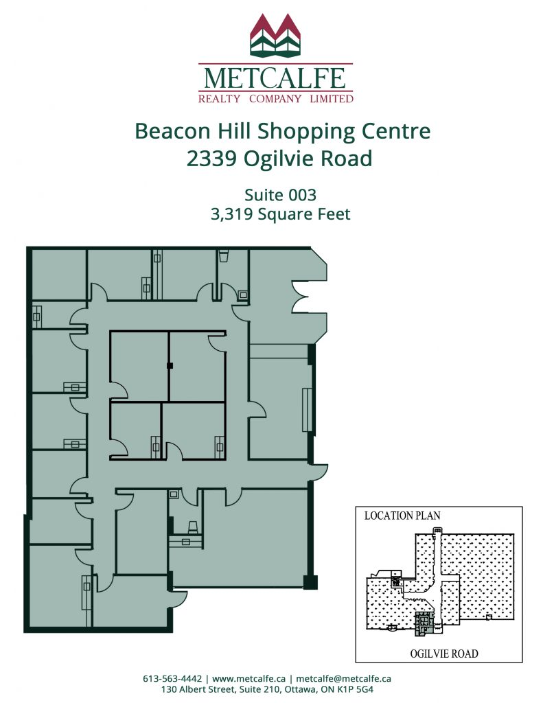 Beacon Hill Shopping Centre - Metcalfe Realty Company Limited